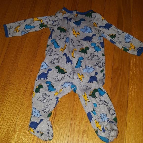 Garanimals Baby Toddler Pajamas with Footies Dinosaur Theme Bodysuit